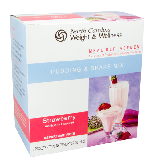 Strawberry Pudding & Shake - Meal Replacement