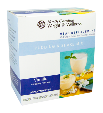 Vanilla Pudding & Shake - Meal Replacement