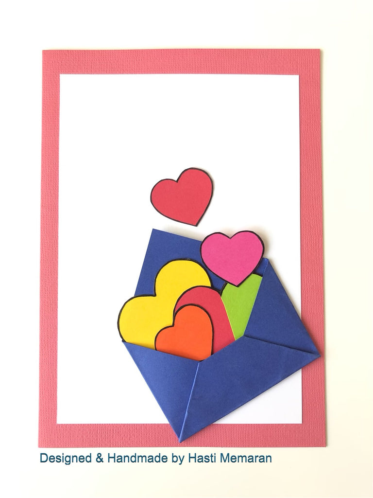Envelope of Hearts - Standout Boutique