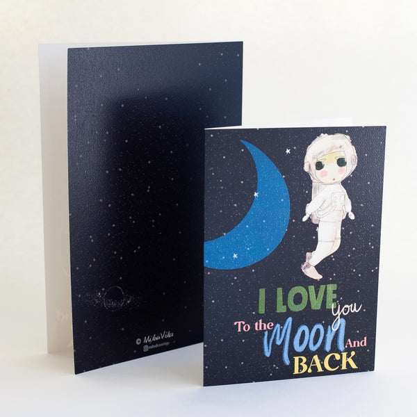 I Love you to the Moon and back - Standout Boutique