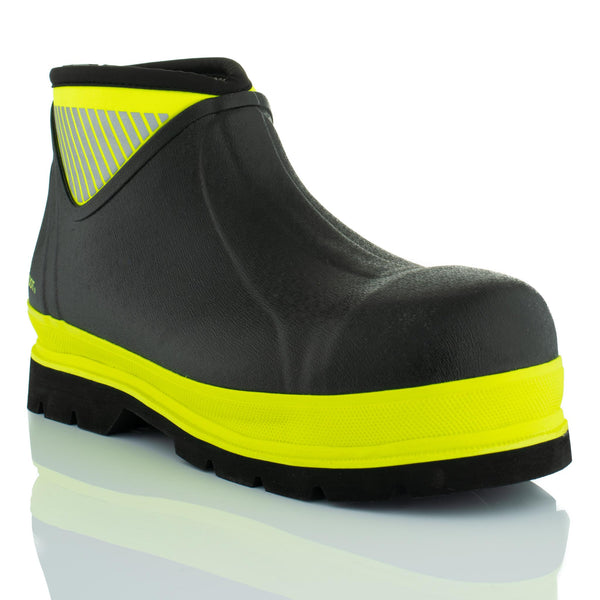 Brightboot Low Wellingtons Yellow / Black