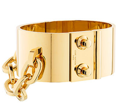 Louis Vuitton Fall 2011 Gold Bracelet