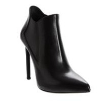Saint Laurent Paris Pointed Toe Ankle Boot