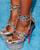 CHRISTIAN LOUBOUTIN Gold Isolde 160 20th Anniversary Sandals