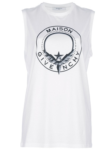 SOLD!!! GIVENCHY Maison Givenchy Tank in White