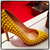 Christian Louboutin Yellow Pigalle Spikes 85 pumps