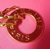 SOLD!!!!   Vintage Celine Circle Chain Gold Necklace