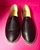 Chanel Slip-on Espadrilles, Black Leather: Miley Cyrus + Kendall Jenner