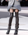 Chanel Embellished Chain Boots with Leather Gaiters: Miley Cyrus, Beyonce: 36