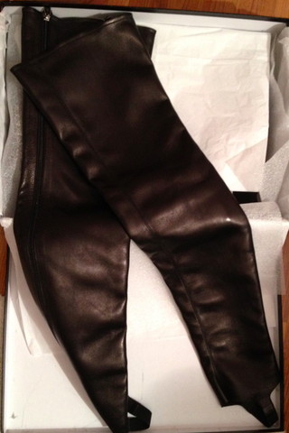 Chanel Leather Gaiters, Runway (Chanel Chain Boots)