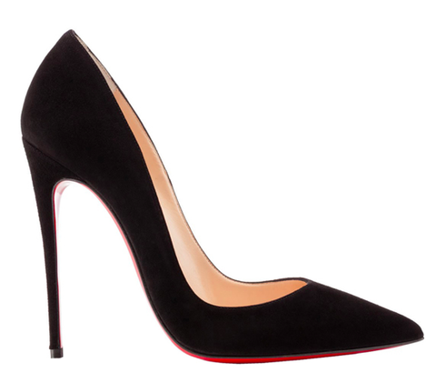 ** Christian Louboutin So Kate 120mm Black Suede **