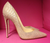 ** NIB Christian Louboutin So Kate Cork Embossed Pump **