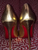 NIB Christian Louboutin So Kate Gold Leather Pumps: 35