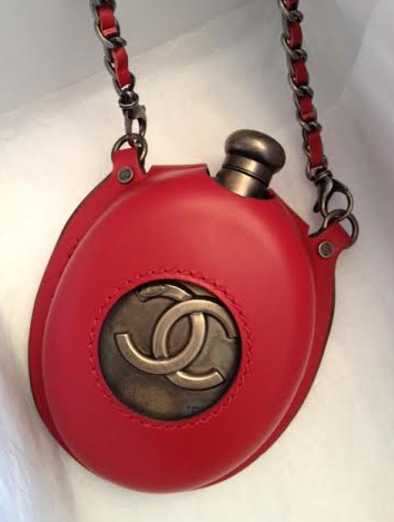 ** NIB: Chanel Highlander Flask Bag, Red or Black: Miroslava Duma **