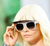 ** NIB: Chanel Visor Sunglasses, Flip up: Cara Delevingne **