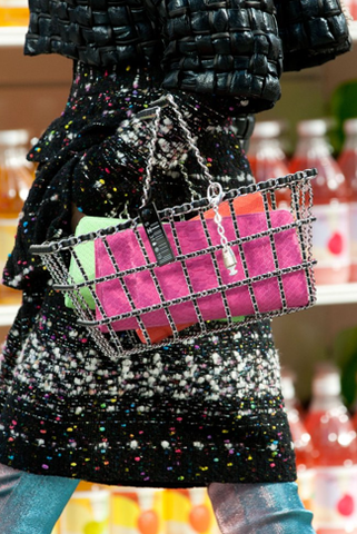 2014 Chanel Limited Edition Runway Shopping Cart Basket
