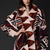 SOLD!!! ***  Burberry Prorsum Geometric Knit Blanket Coat, SMALL ***