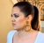 ** Chanel Vintage Large CC Gold Hoop Earrings, Khloe Kardashian **
