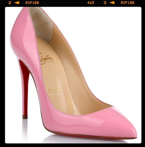 Christian Louboutin Pigalle Follies Patent Leather Pumps: Baby Pink @circegirls