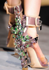 Dsquared Dsquared2 Embellished Virginia High Heel Jewel Sandals: Rihanna