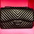 ** 2015 CHANEL CLASSIC JUMBO LARGE SO BLACK HDW CHEVRON FLAP BAG: LIMITED EDITION ** ASO @msblingmiami