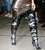** Balenciaga Silver All Time Metallic Leather Thigh-High Boot, (Argento): Kylie Jenner, Chiara Ferragni 38 **