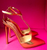 SOLD!!! Christian Louboutin T-Piga Leather Sandals Gold Specchio, 38