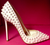 Christian Louboutin Pigalle White Spiked 120mm Pumps
