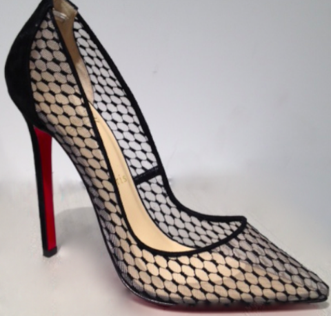 Christian Louboutin Pigalle Pigaresille 120 Pumps
