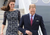 Erdem Cecile Navy Blue Lace Dress: ASO Kate Middleton