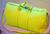 2013 Louis Vuitton Keepall Bandouliere 45, Yellow (Jaune Fluo) Damier Duffle Bag