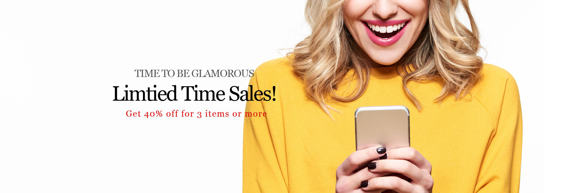 Glamorousky Limited Time Sales