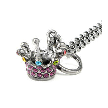 Load image into Gallery viewer, Crown Bracelet with Multi-color Austrian Element Crystals