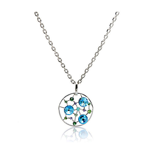 Stary Sky Pendant with Austrian Crystals and Necklace