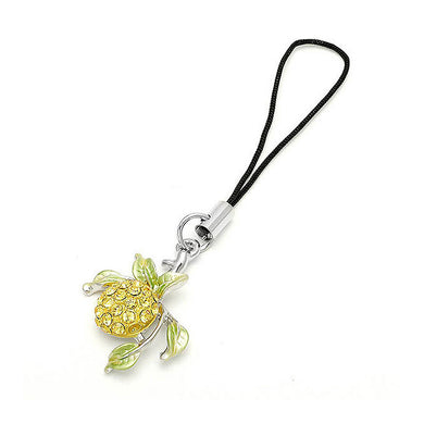 Fruit Strap with Yellow Austrian Element Crystals
