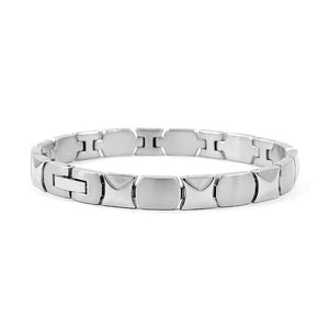 Fashion Plated Stainless Steel Bracelet