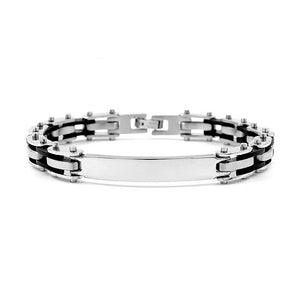 Fashion Stainless Steel Bracelet (with Plastic)