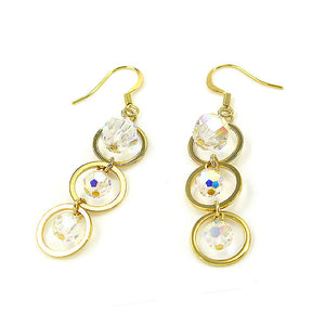 Trendy Earring swith Austrian Element Crystals