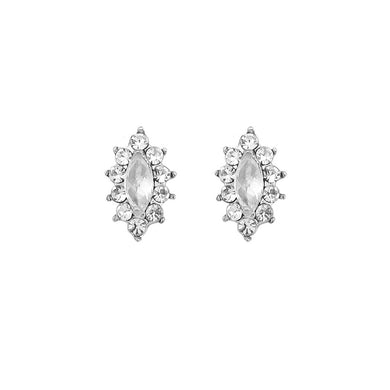 Exquisite Marquise Earrings with Silver Austrian Element Crystal