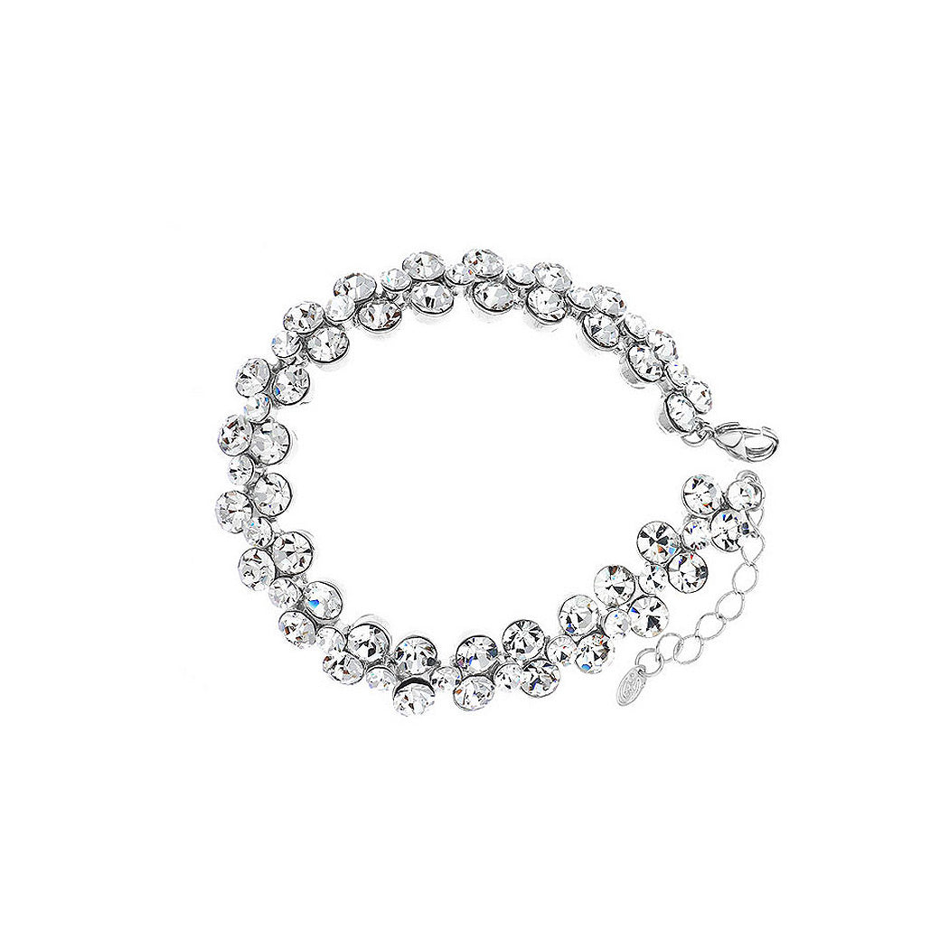 Shining White Austrian Element Crystal Bracelet