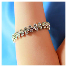 Load image into Gallery viewer, Shining White Austrian Element Crystal Bracelet