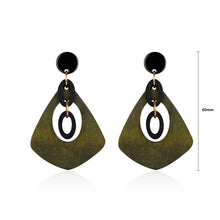 Load image into Gallery viewer, Personalized Green Earrings
