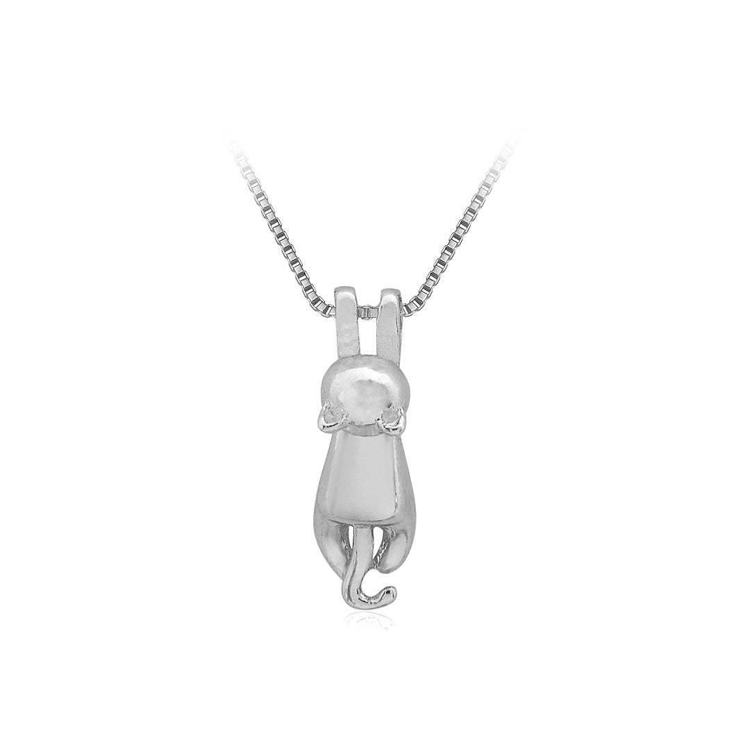 Fashion Cat Pendant with Necklace