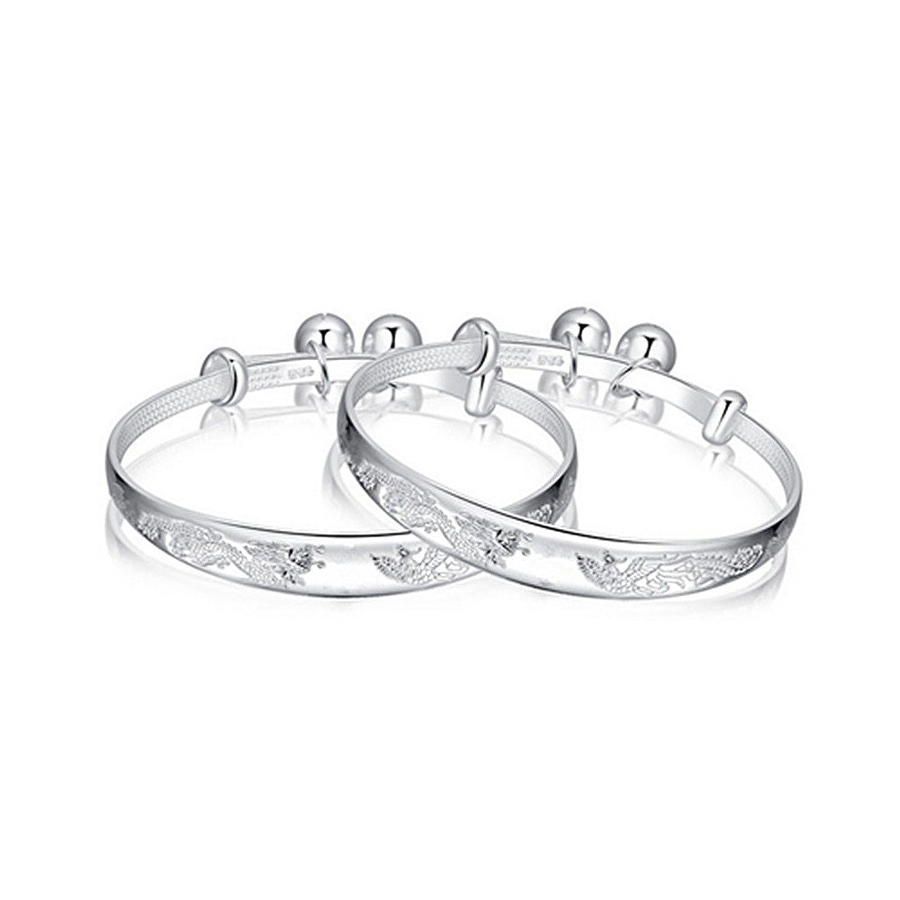Simple Baby Silver Bangle