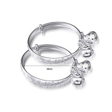 Load image into Gallery viewer, Simple Baby Silver Bangle