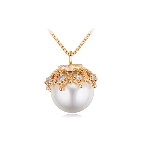 Fashion Pearl Pendant with Necklace