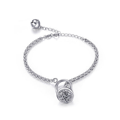925 Sterling Silver Jingle Bell Bracelet