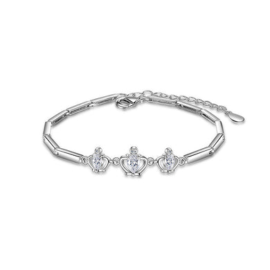 Fashion Crown Bracelet with Austrian Element Crystal