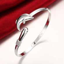 Load image into Gallery viewer, Simple Classic Dolphin Bangle