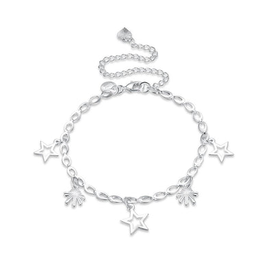 Fashion Simple Hollow Star Anklet - Glamorousky